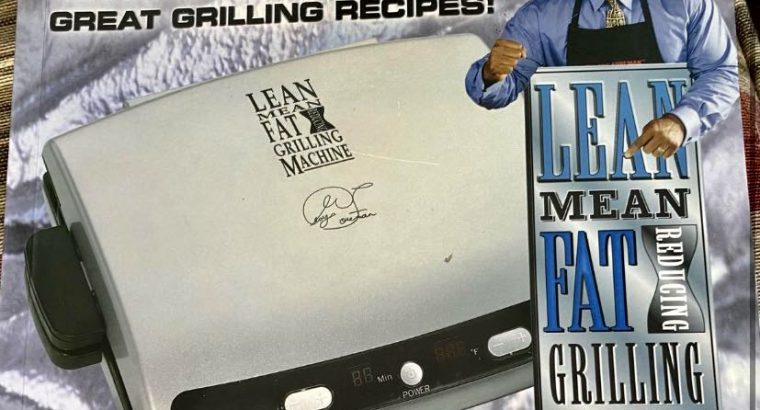 George foreman grilling recipe book